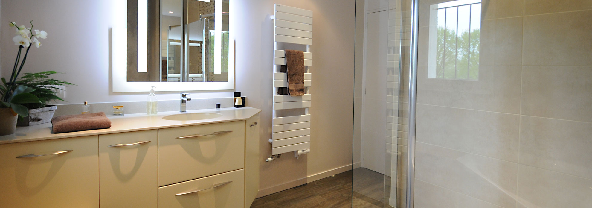 Evm cr ation architecte d 39 int rieur nantes et angers - Creation de salle de bain ...