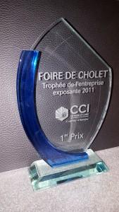 Trophée Foire de Cholet entreprise exposante