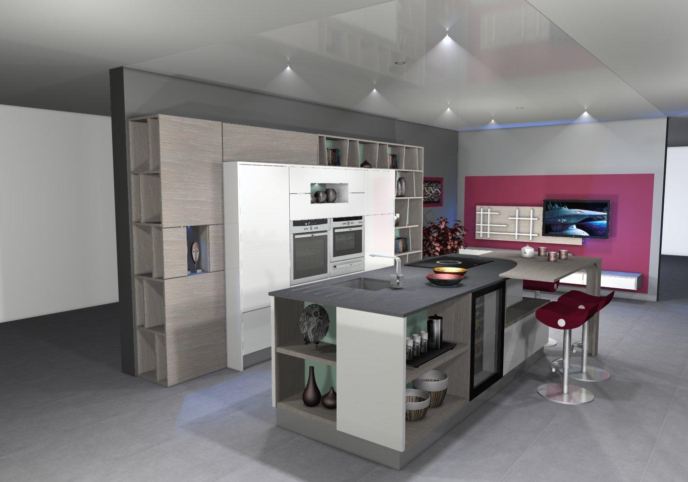 cuisine am ricaine sur mesure faites appel un professionnel. Black Bedroom Furniture Sets. Home Design Ideas