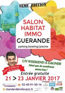 Salon Habitat Immo Guérande du 21 au 23 Janvier
