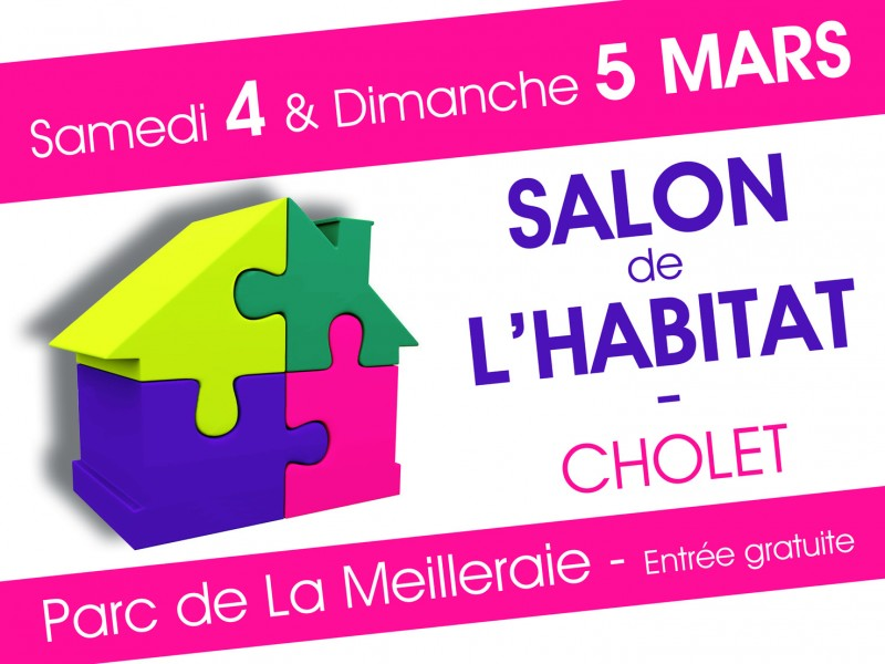 Salon de l 39 habitat cholet 2017 evm cr ation for Salon de l habitat 2017