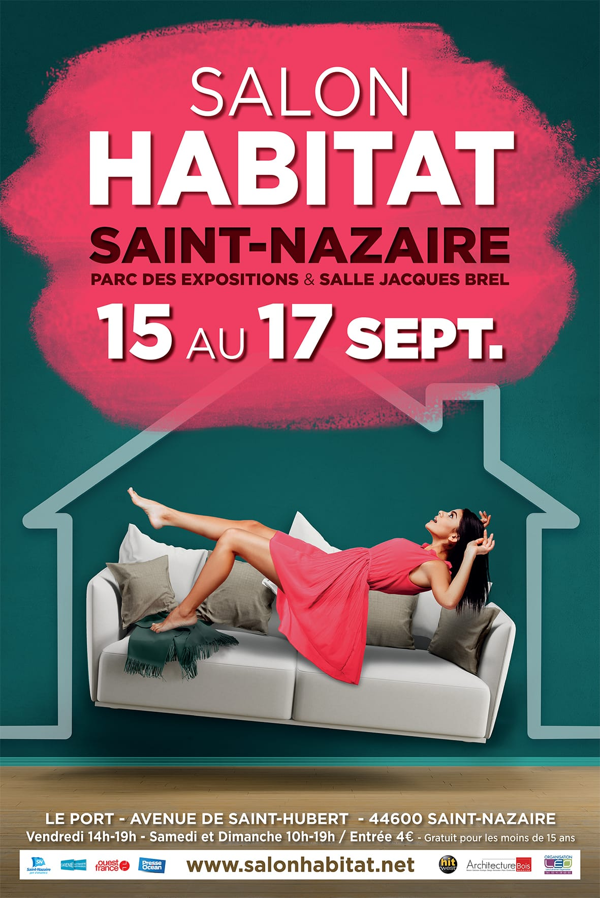 salon habitat saint nazaire 2017 pr sence de evm cr ation stand b30. Black Bedroom Furniture Sets. Home Design Ideas
