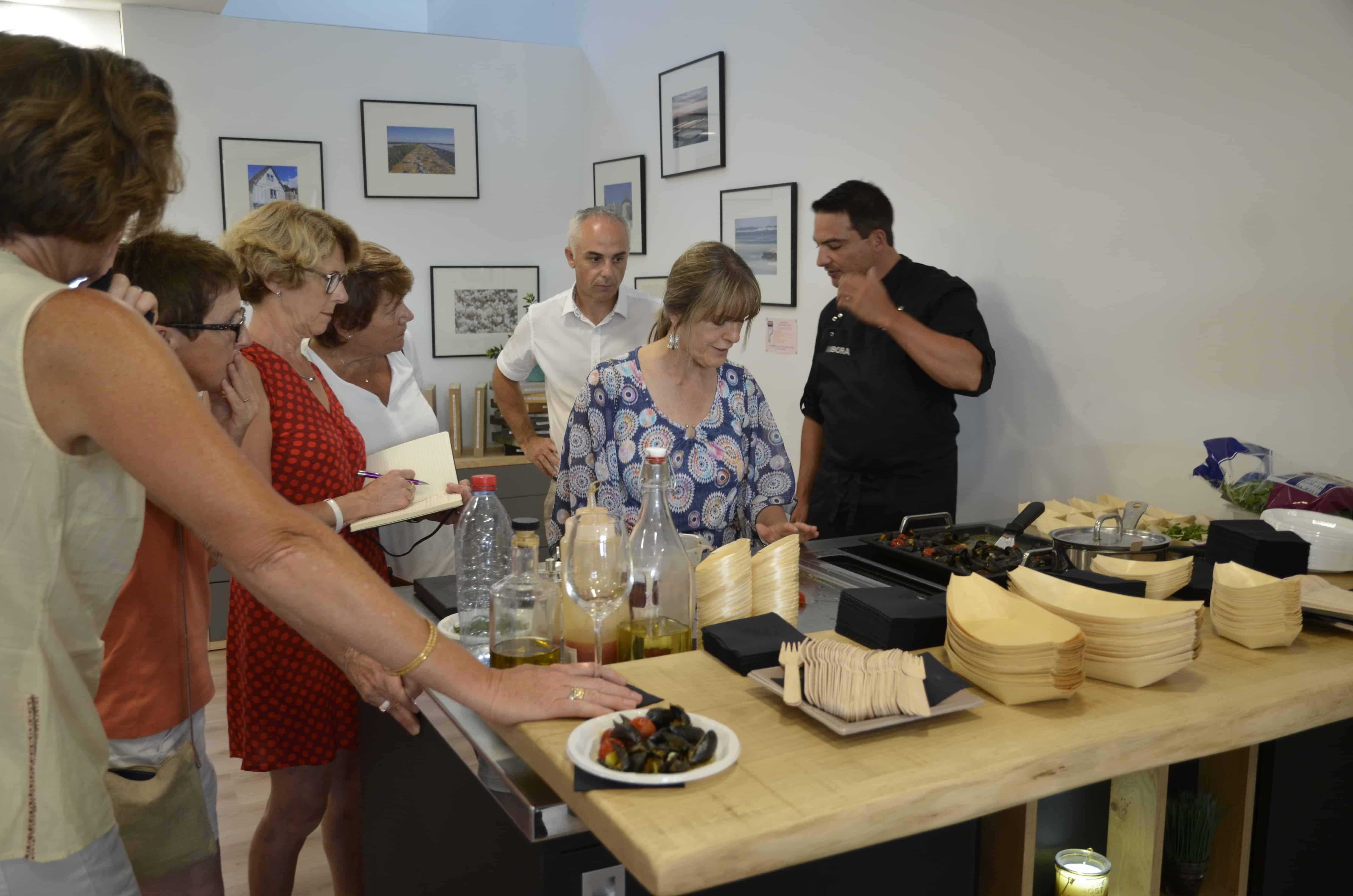 Cours de cuisine par le chef Pierre Marie BROUSSE à Guérande